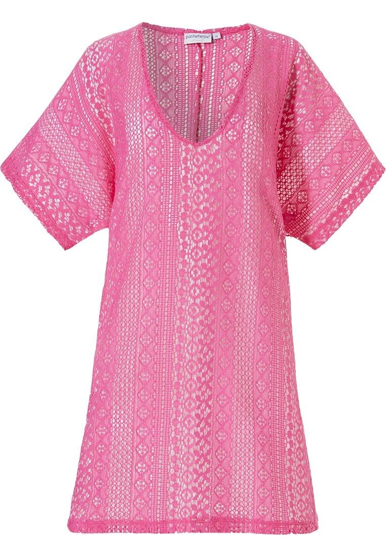 Beachwear Pastunette 16191-182-2, bright pink.