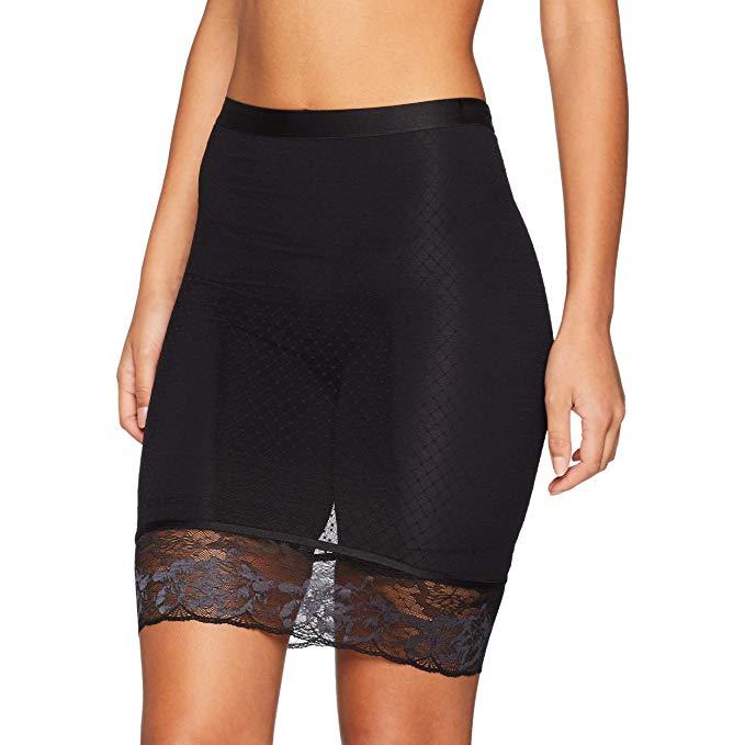 "Triumph ""Magic Wire Lite Panty Long Skirt, 10185406"", μαύρο."