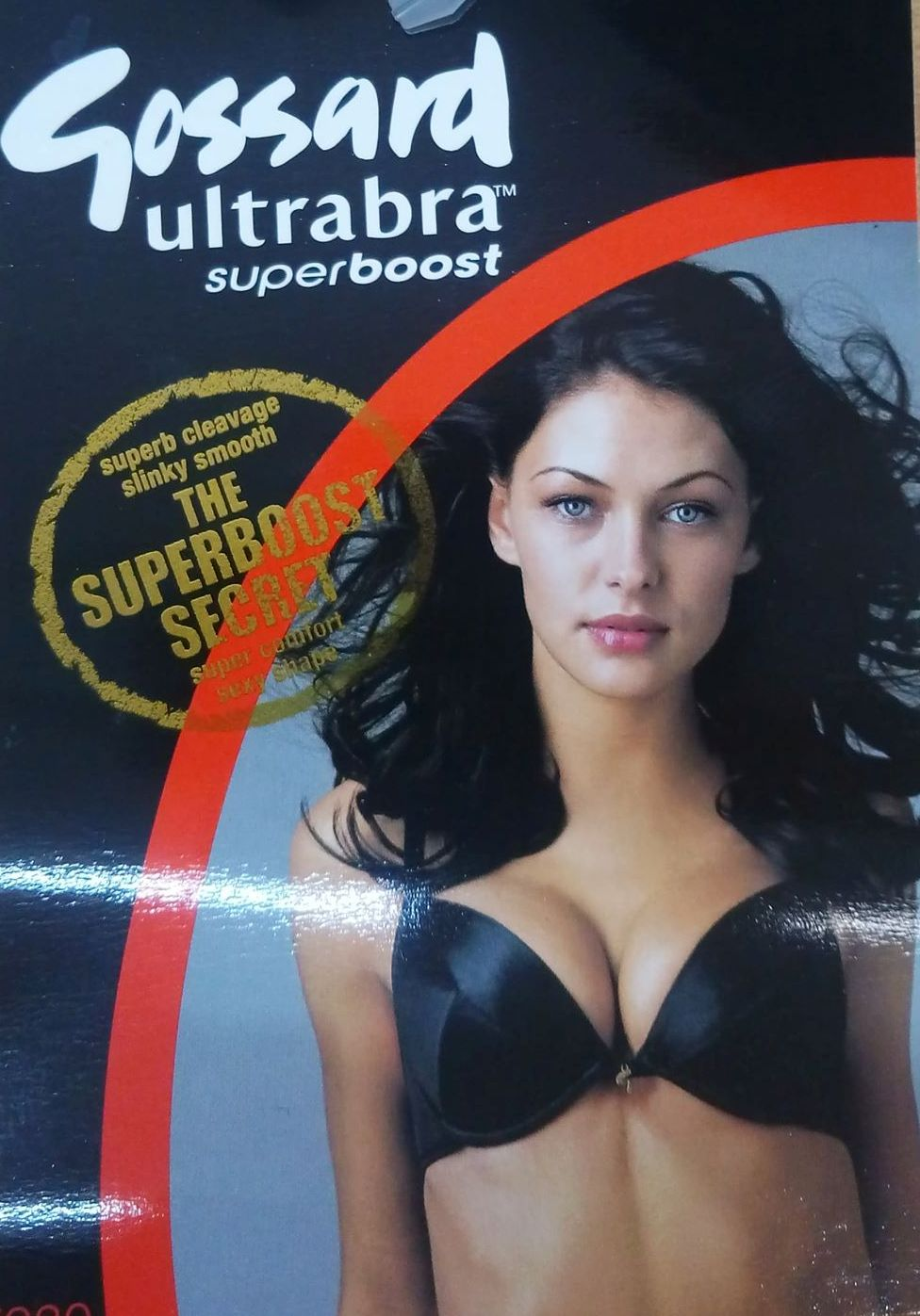 "Gossard ""Ultrabra Superboost 7930"",black."