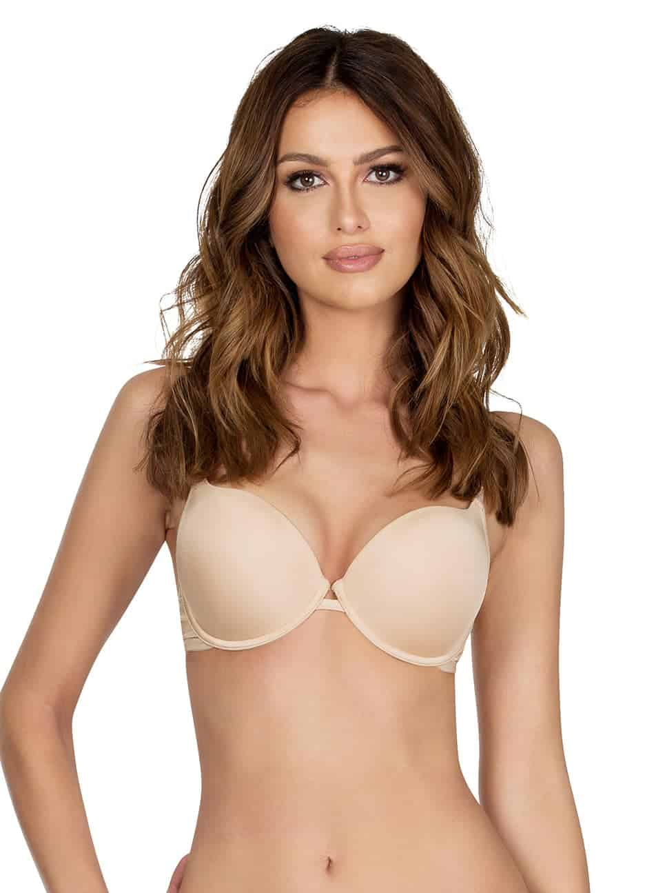 "Parfait ""Super Push up bra P13021"", μπεζ."